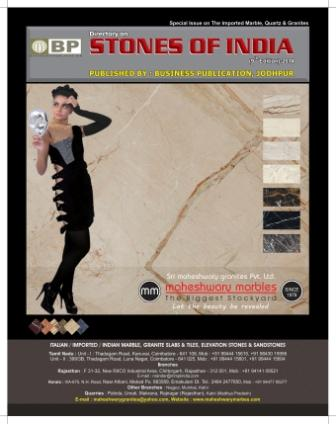 Business publication stones of india , Our IX Edition is Successfully Published